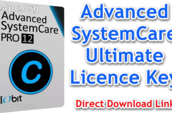 Advanced SystemCare Ultimate Licence Key