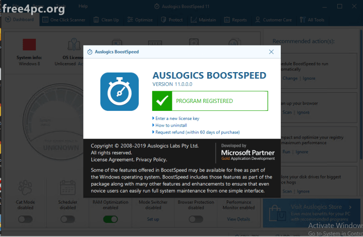 Auslogics BoostSpeed 11 Crack