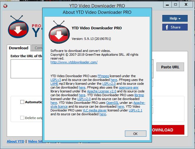 YTD Video Downloader Pro 5.9.13.2 Crack