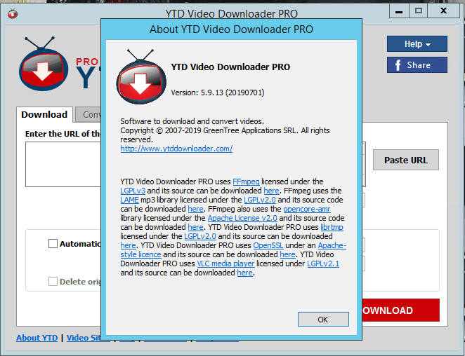 ytd video downloader free download with crack