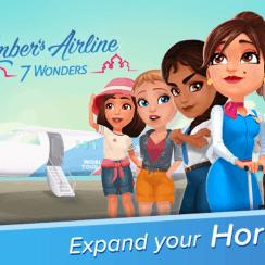 Amber's Airline 7 Wonders ✈️ v1.2.0 MOD APKAmber's Airline 7 Wonders ✈️ v1.2.0 MOD APK