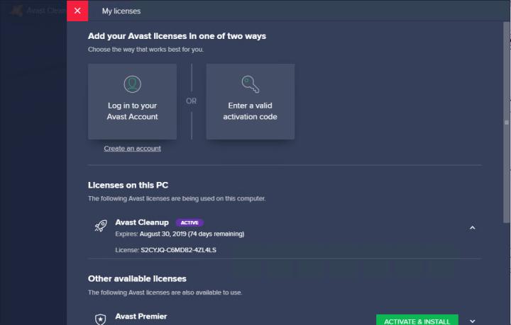 Avast Cleanup Premium 19.1 Build 7475 Key