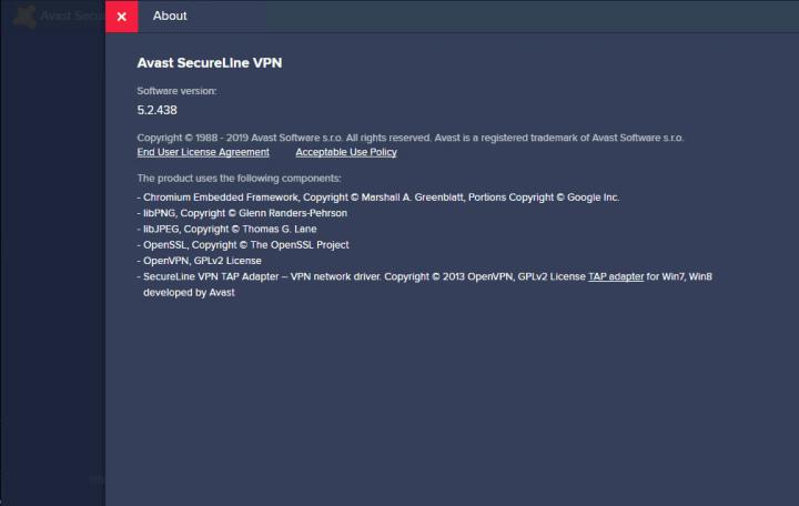Avast SecureLine VPN 5.2.438 Key