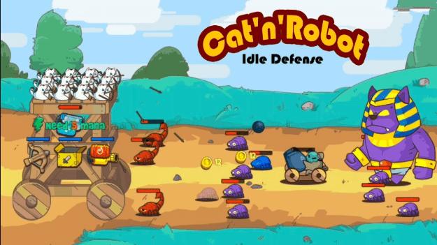 Cat'n'Robot v1.6.2 MOD APK