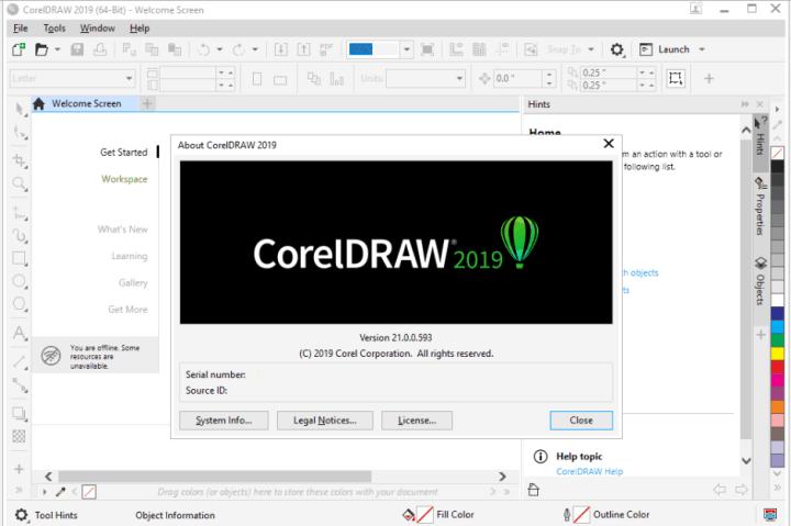 CorelDRAW Graphics Suite 2019 21.2.0.706 With Keygen