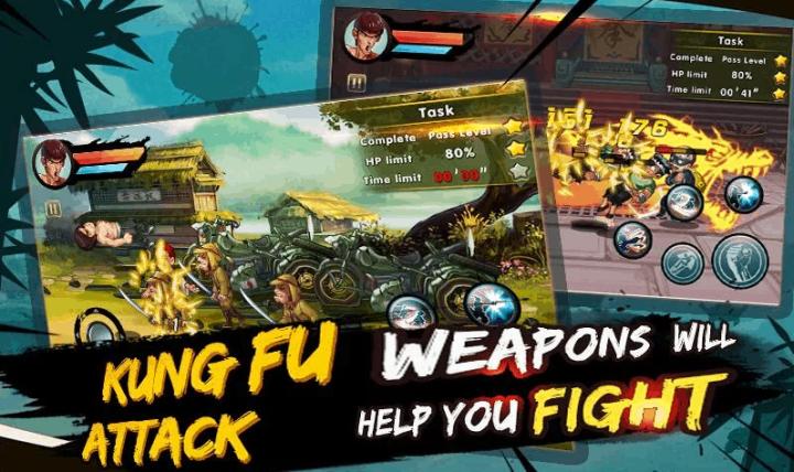 Kung Fu Attack Offline Action RPG v1.3.7.107 MOD APK
