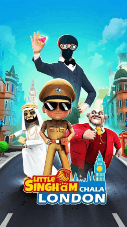 Little Singham No 1 Runner v3.13.129 MOD APK