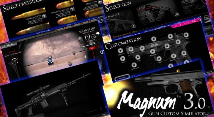 Magnum 3.0 Gun Custom Simulator v1.0458 MOD APK