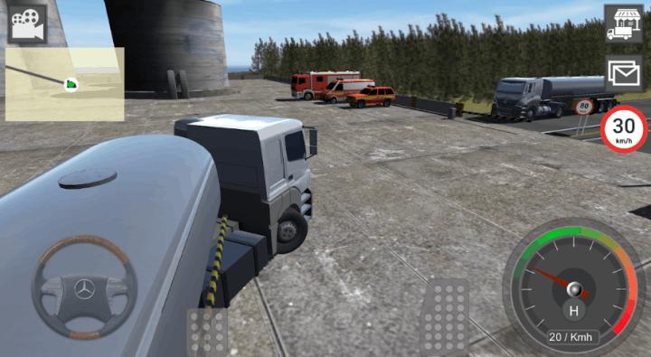 Mercedes Benz Truck Simulator v6.15 MOD APK