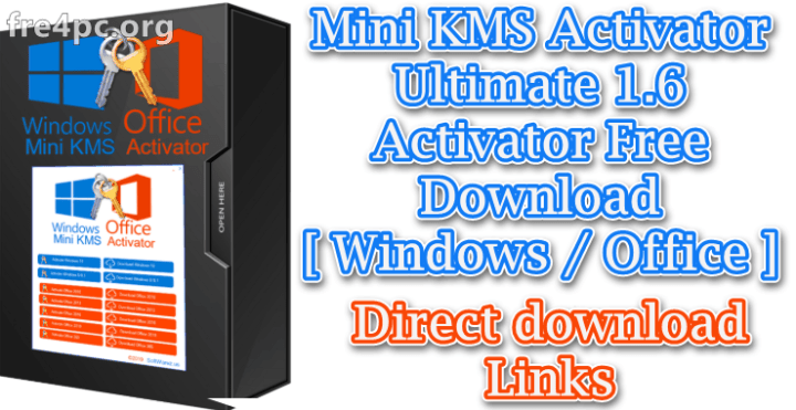 Mini KMS Activator Ultimate 1 8 Activator [ Windows / Office ]