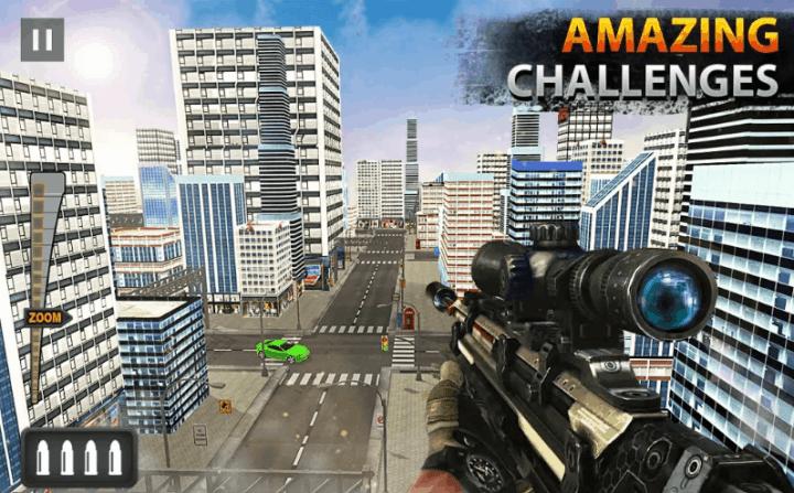 New Sniper Shooting 2019 v1.39 MOD APK