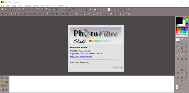 PhotoFiltre Studio X 10.14.0 Key