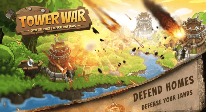 Tower War Grow the tower v1.0 MOD APK