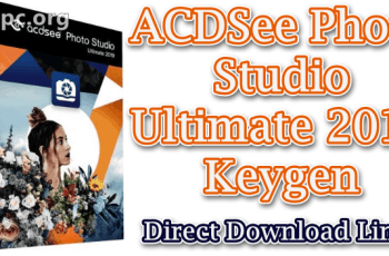ACDSee Photo Studio Ultimate 2019 Keygen