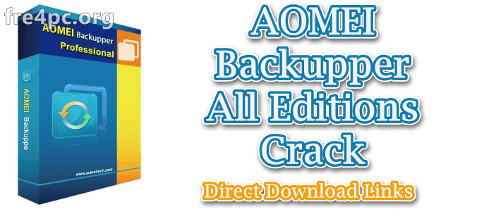 AOMEI Backupper 5 2 0 With Crack ( All Edition)[Latest]