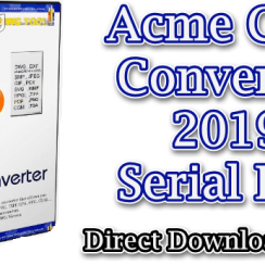 Acme CAD Converter 2019 Serial Key