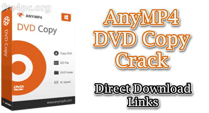 AnyMP4 DVD Copy Crack