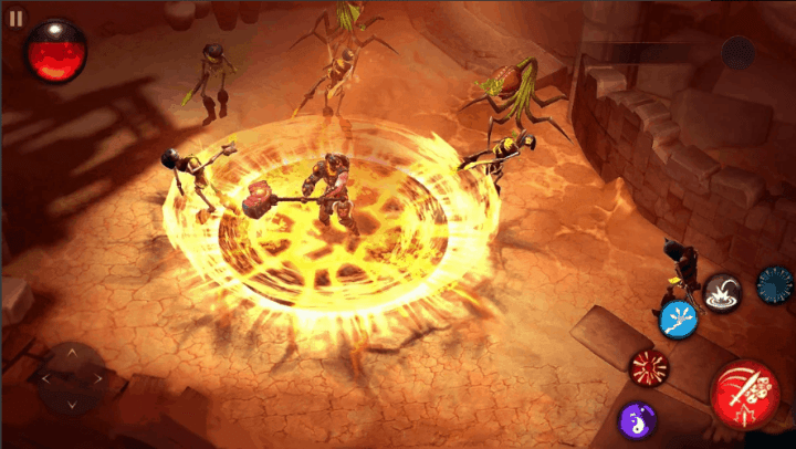 Blade Bound Hack and Slash of Darkness Action RPG Ver. 2.1.4 MOD APK