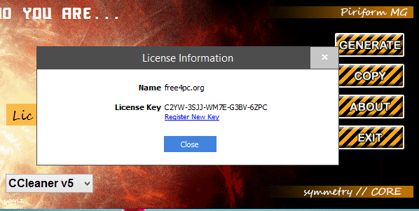 CCleaner Professional 5.60.7307 License Key