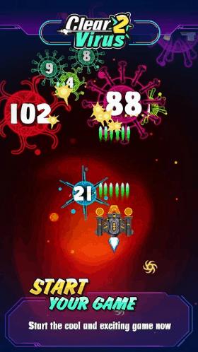 Clear Virus Clash of Bio 98K Virus War v1.8.0 MOD APK