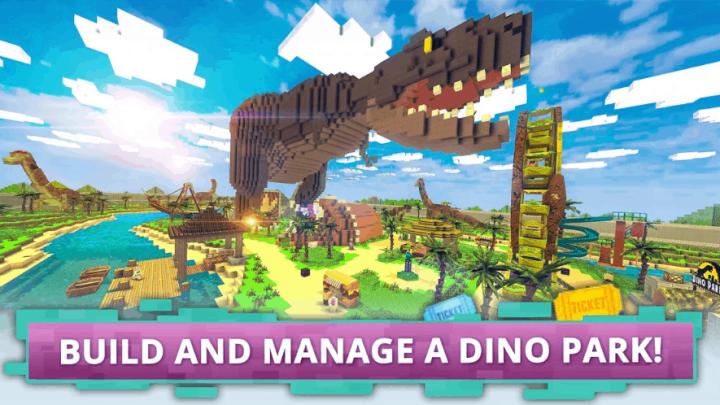 Dino Theme Park Craft v1.4 MOD APK