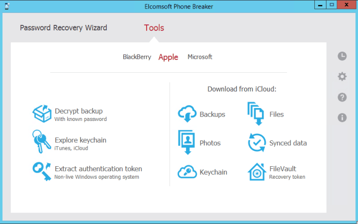 Elcomsoft Phone Breaker Forensic Edition 9 Crack
