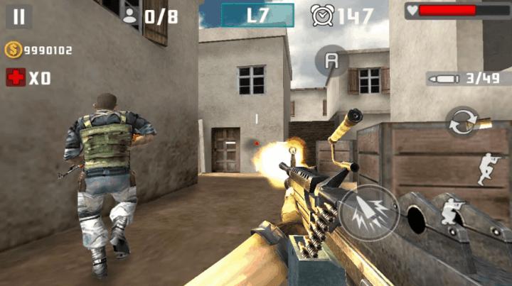 Gun Shot Fire War v.1.2.6 MOD APK