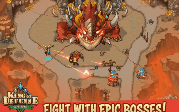 King Of Defense Battle Frontier v1.16 MOD APK