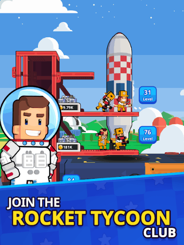 Rocket Star Idle Space Factory Tycoon Games v1.23.1 MOD APKRocket Star Idle Space Factory Tycoon Games v1.23.1 MOD APK