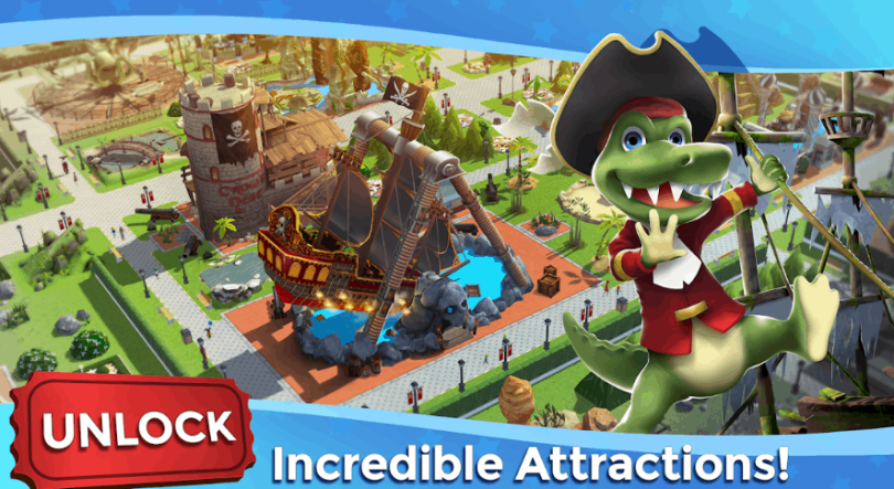 RollerCoaster Tycoon Touch Build your Theme Park v3.0.4 MOD APK