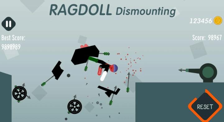 Ragdoll Dismounting v1.13 MOD APK