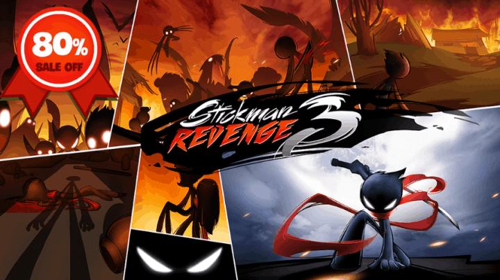 Stickman Revenge 3 League of Heroes v1.1.8 MOD APK