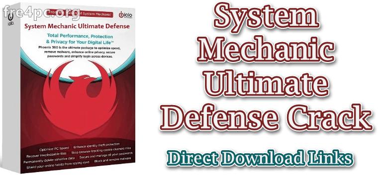 System Mechanic Ultimate Defense Crack