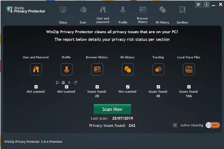 Resultado de imagen para WinZip Privacy Protector Premium 3