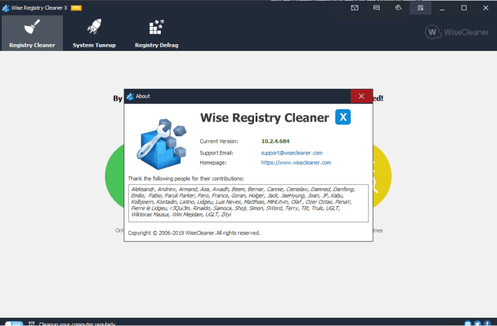 Wise Registry Cleaner Pro 10.2.4.684 full version