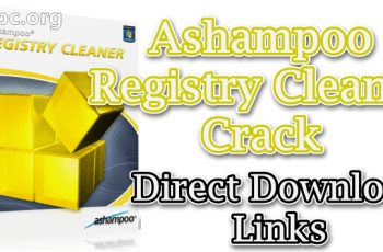 Ashampoo Registry Cleaner Crack
