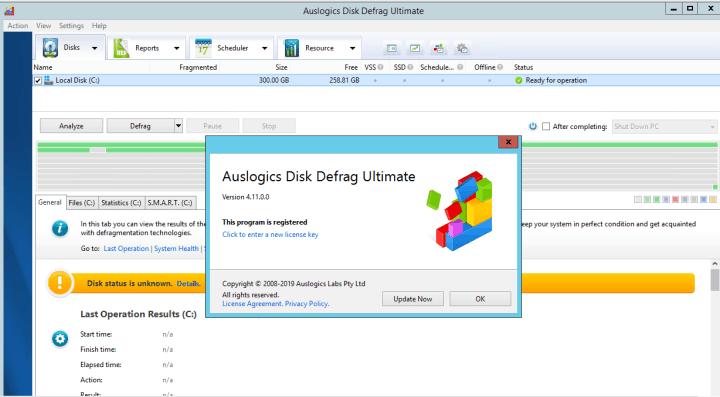 Auslogics Disk Defrag Ultimate 4.11.0.0 Crack