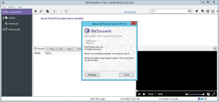 BitTorrent Pro 7.10.5 Build 45312 Crack