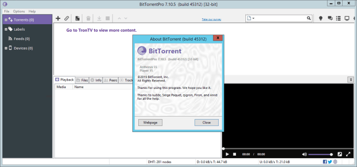 BitTorrent Pro 7.10.5 Build 45312 Crack