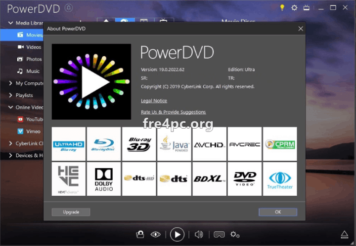 CyberLink PowerDVD 19.0.2022.62 Pre-Activated
