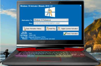 Windows 10 Activator Ultimate 2019 1.0 [Latest]