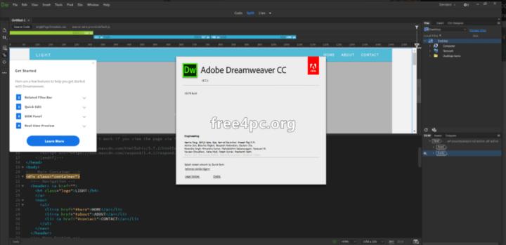 Adobe Dreamweaver CC 2018 Keygen Free download
