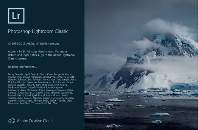 Adobe Photoshop Lightroom Classic 2019 Crack