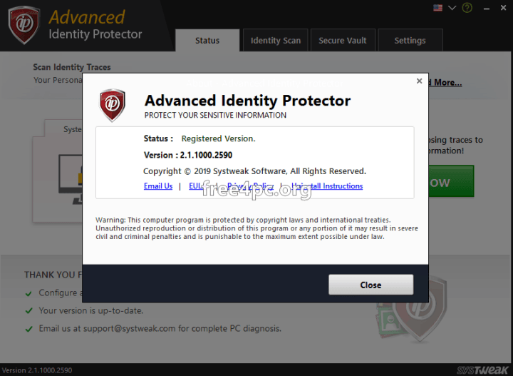 Advanced Identity Protector Crack free download