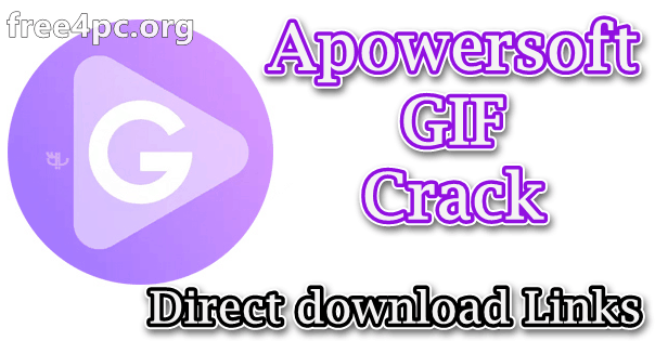 Apowersoft GIF Crack