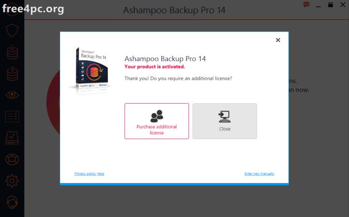 Ashampoo Backup Pro Full Version