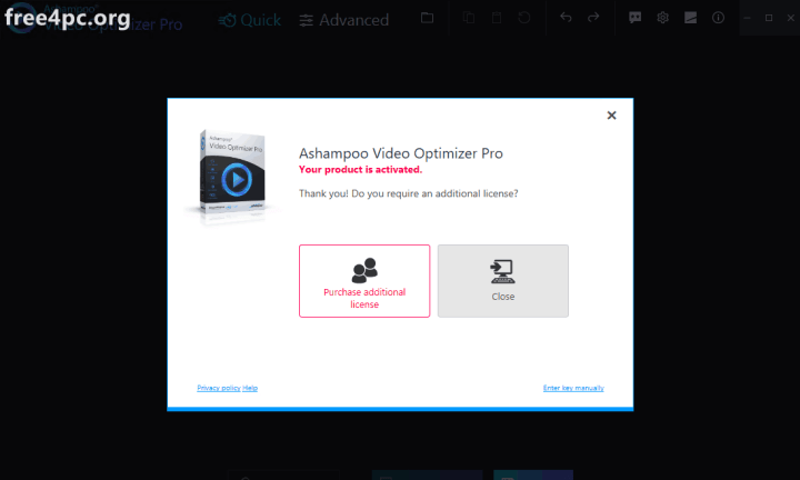 Ashampoo Video Optimizer Pro Full Version