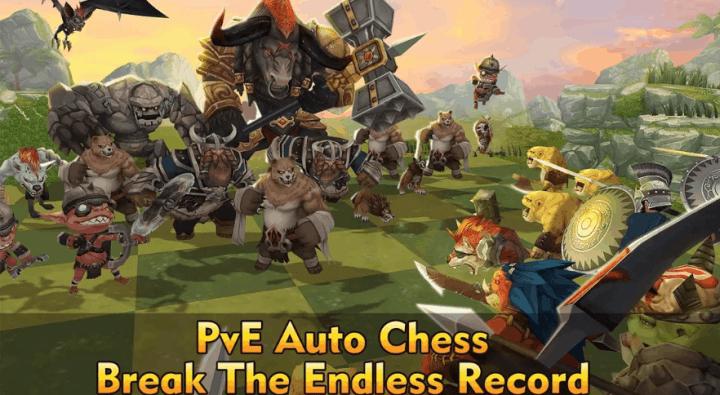 Auto Chess War v1.45 MOD APK