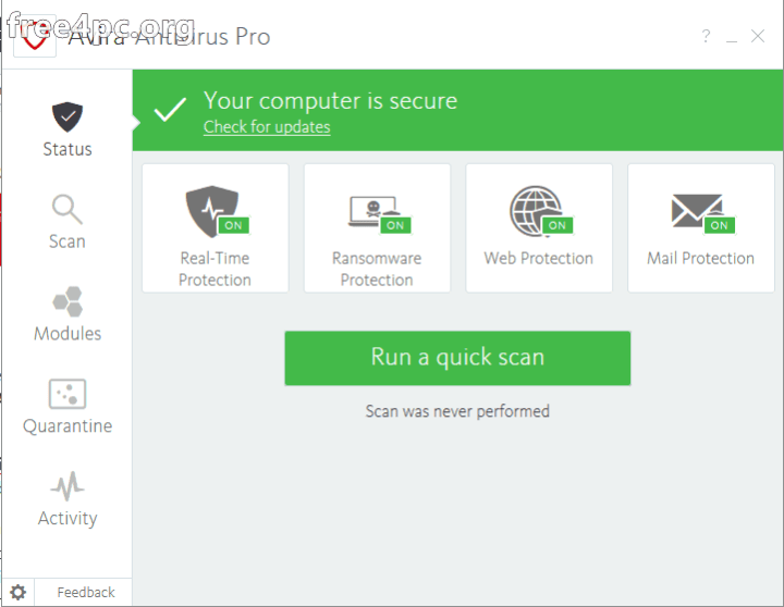 Avira Antivirus Pro Activation Key