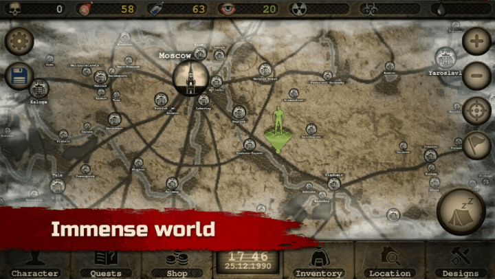 Day R Survival Apocalypse Lone Survivor and RPG v1.638 MOD APK